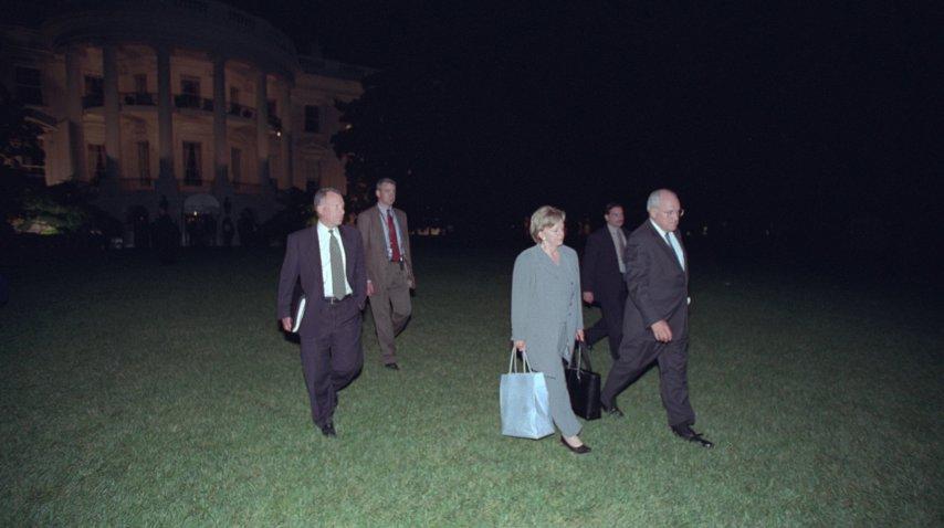 Cheney y su mujer abandonan la Casa Blanca<br>
