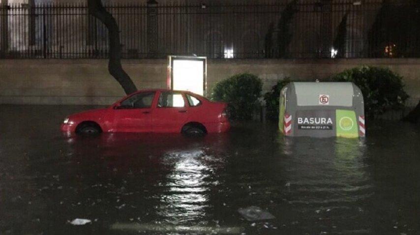 La ciudad más rica de Argentina se inunda en 1 hora