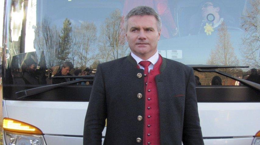 El presidente del distrito bávaro de Landshuter, Peter Dreier