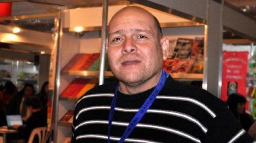 Marcelo Lucero, ex director del INADI La Rioja. <br>