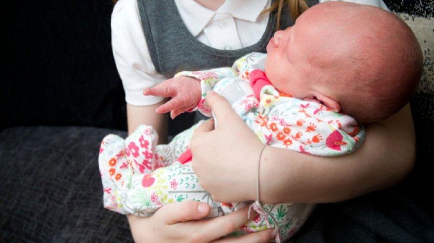 Elsie Rose tenía sólo cinco días de vida (Facebook)