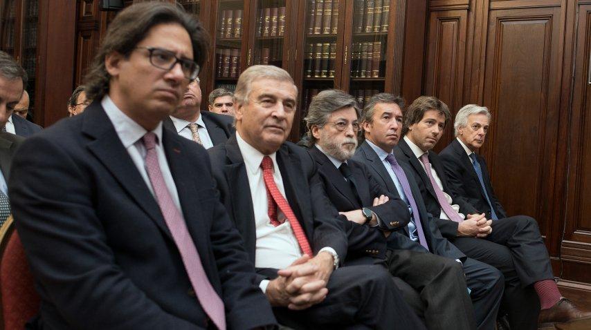 Germán Garavano, Oscar Aguad, Alberto Abad