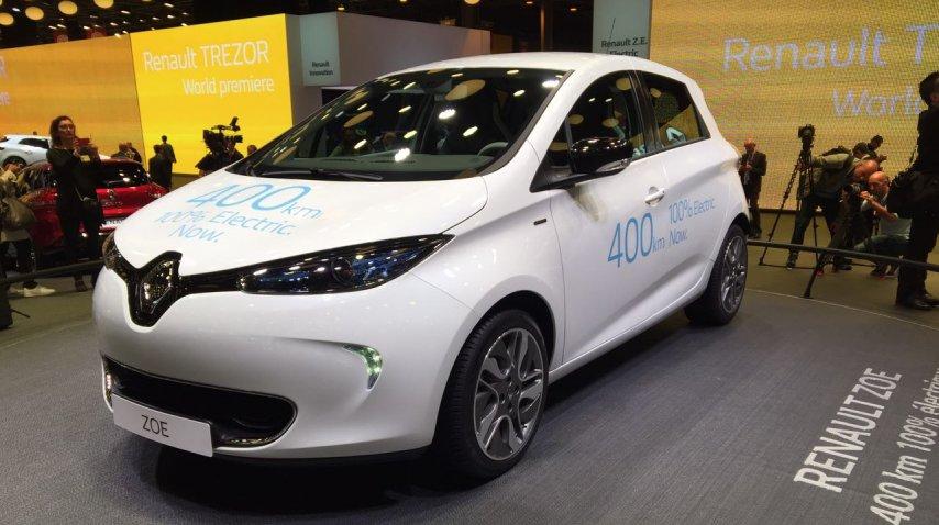 El Zoe de Renault<br>