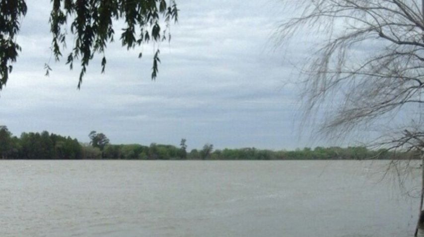 Río donde desapareció Eduardo Maximiliano Magallan