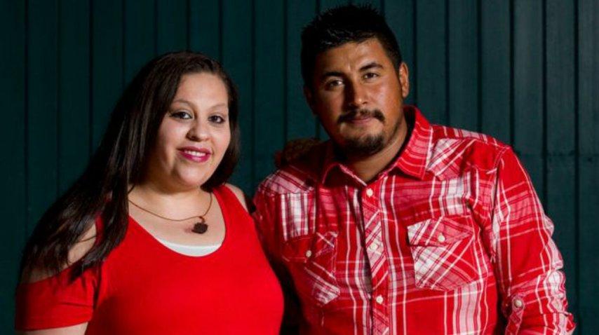 Augustina y José son padres de 14 hijas<br>