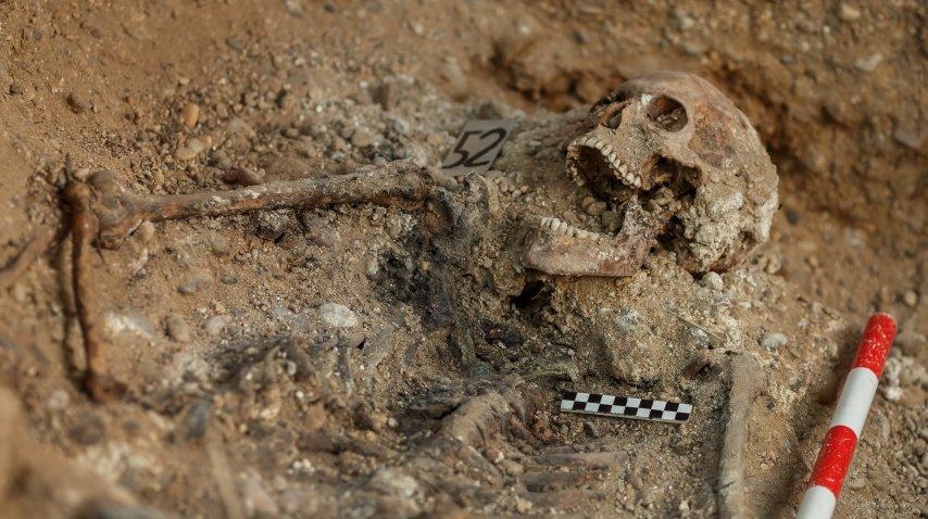 Se calcula que más de 200 personas fueron enterradas en la fosa de Valladolid<br>