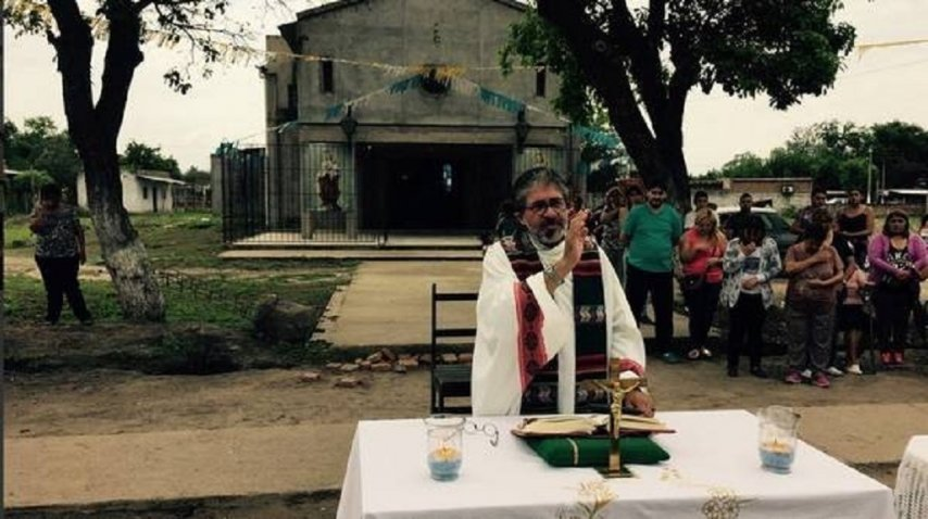Juan Viroche apareció ahorcado dentro de la Iglesia<br>