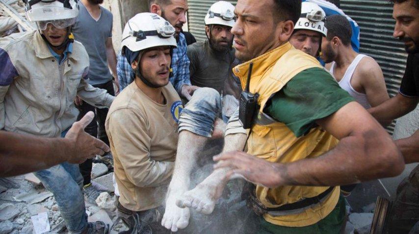 Voluntarios Cascos Blancos