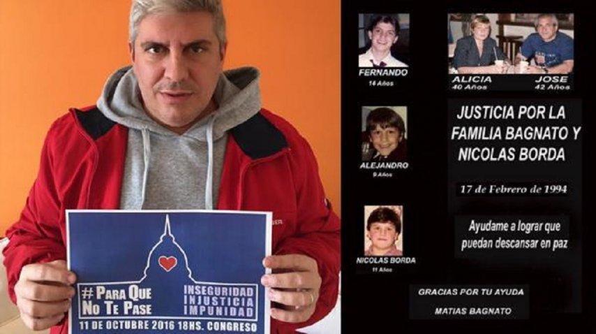 La familia Bagnato fue quemada adentro del departamento que ocupaban en Flores, como venganza por el cobro de una deuda.