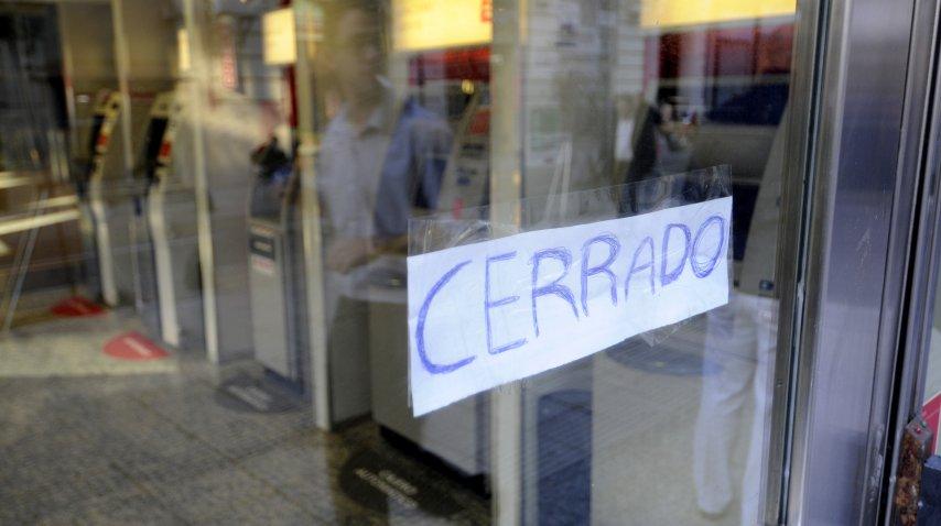 Los bancarios confirmaron el paro a pesar de la conciliación obligatoria<br>