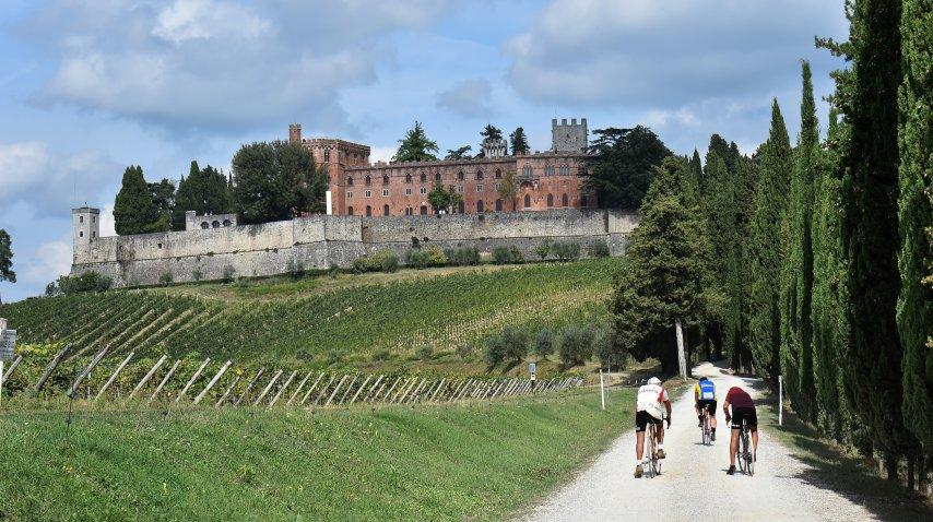 La región de Chianti, en la Toscana italiana<br>