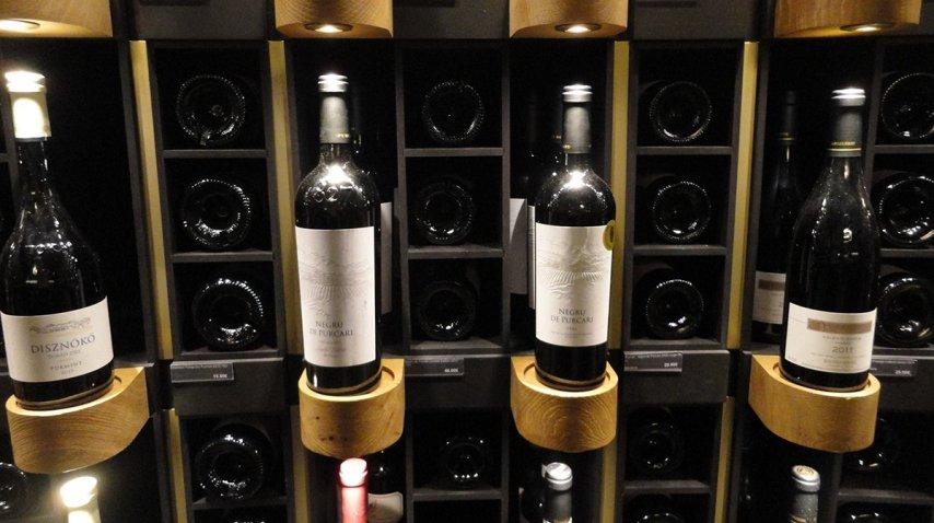 Así se muestran los vinos en la Cité du vin<br>