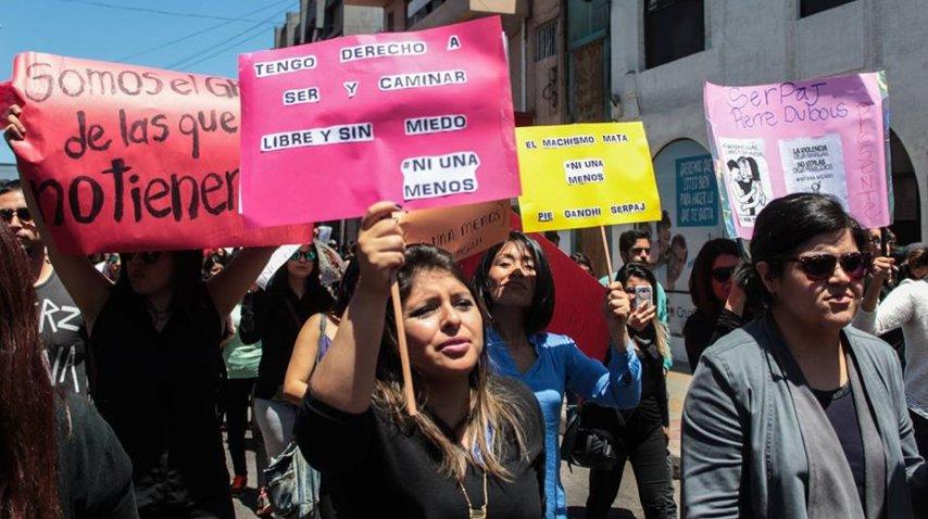 <p>Marcha Ni Una Menos</p><p></p>