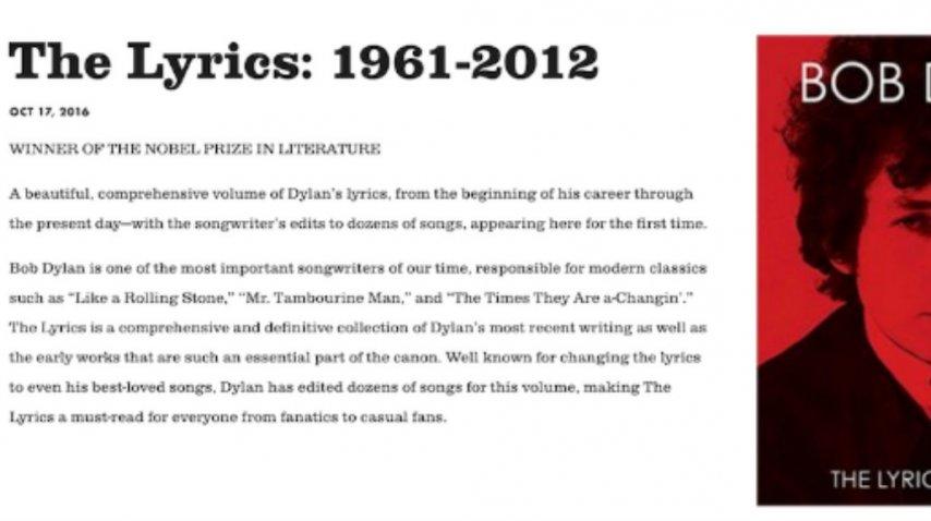 ¿Bob Dylan acepta ser Nobel o no?<br>