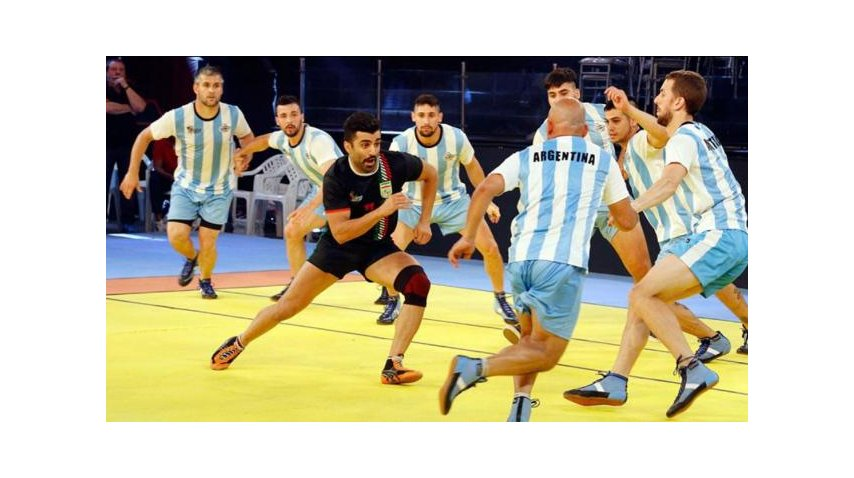 Argentina disputa el Mundial de kabaddi en India<br><br>