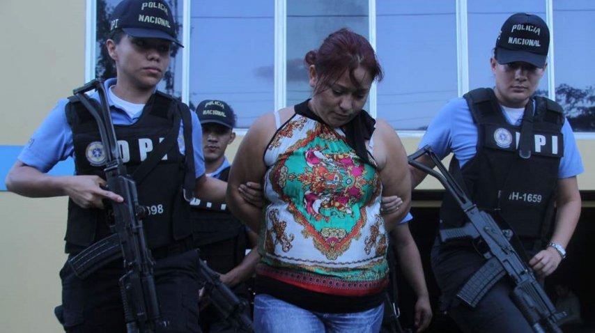 <p>María Ángela Sánchez, mujer que robo al gemelo. Gentileza de La Prensa.</p><p></p><p></p>