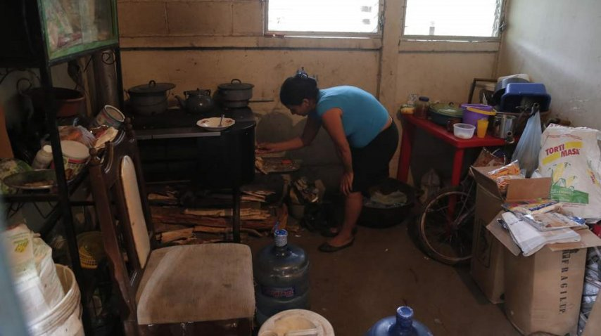 <p>Lugar donde viven Enma y Óscar con sus 7 hijos. Gentileza de La Prensa.</p><p></p>