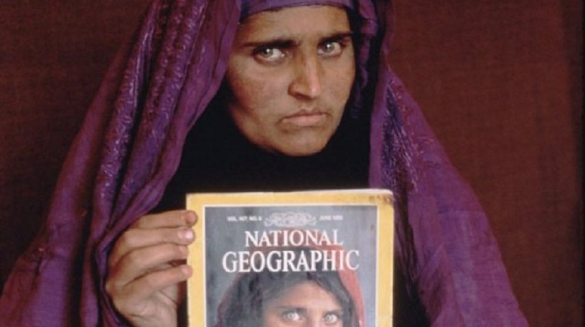 Sharbat Gula, con 30 años<br>