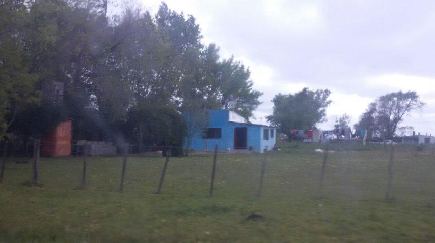 La casa donde vivia en Olavarria, donde se lo detuvo