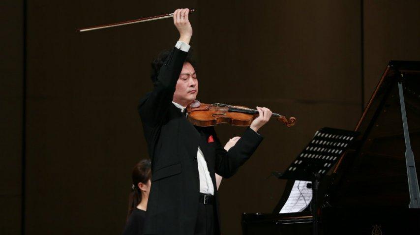 El prestigioso violinista chino <br>