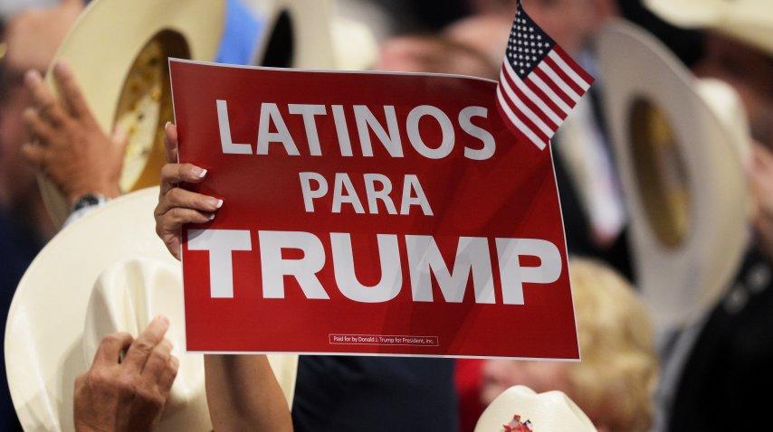 Los latinos de Florida increíblemente acompañaron a Donald Trump