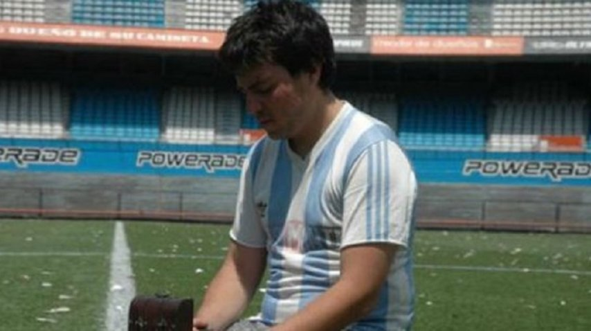 Nicolás Pacheco participó como actor del cortometraje