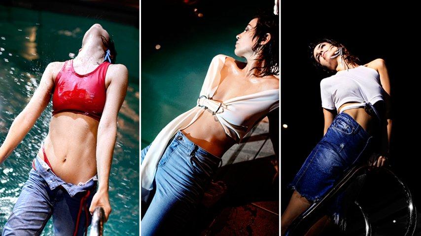 Agustina Cherri, hot en un video.<br>