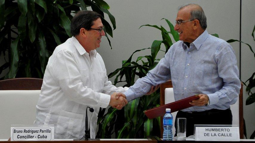 <p>Nuevo acuerdo entre las FARC y el gobierno de Colombia</p><p></p>