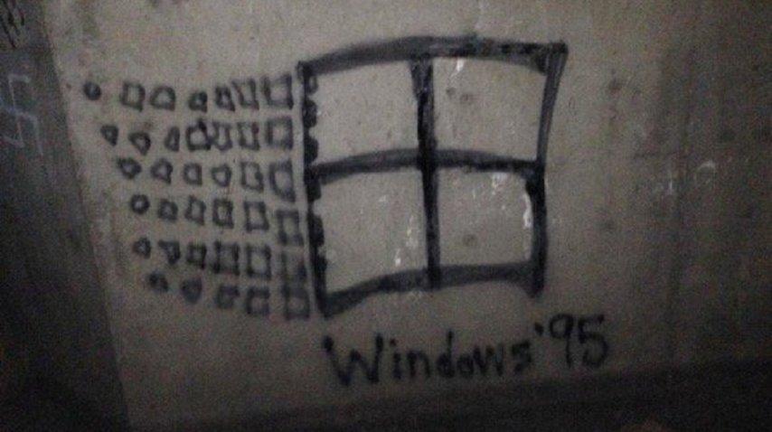 El grafiti que es viral.<br>