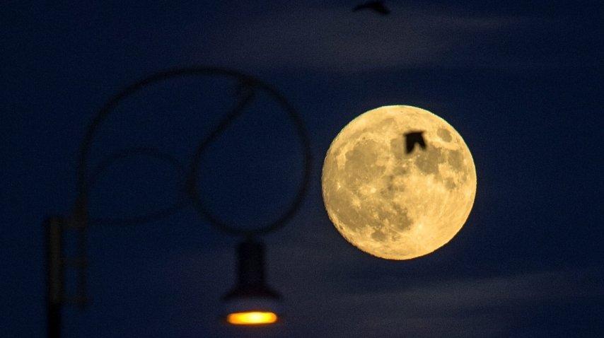 Superluna en Macedonia
