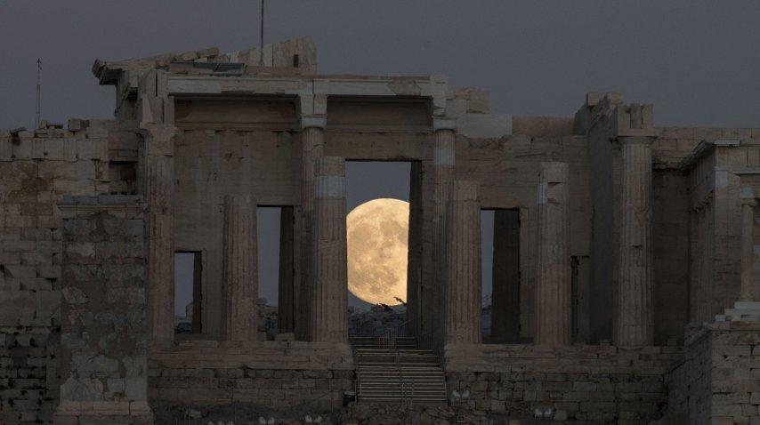 Superluna en Grecia