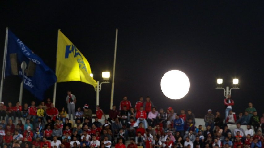 Superluna en Egipto