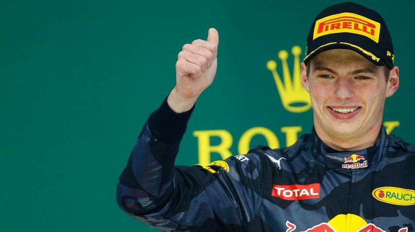 <p>Maniobra de Verstappen en el GP de Brasil</p><p></p>