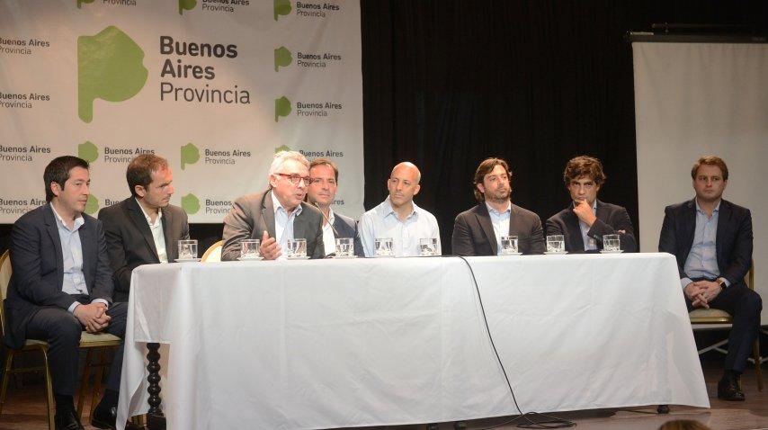 Federico Salvai encabezó el lanzamiento del Consorcio de Municipios Región Norte 2<br>
