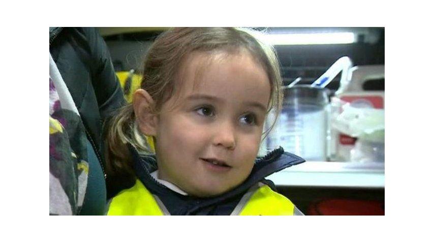 Una nena salvó a la madre de morir por un choque anafiláctico - Crédito: BBC Mundo