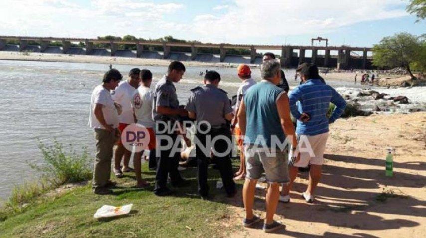 Así fue el operativo para rescatar el cadáver del dique Los Quiroga