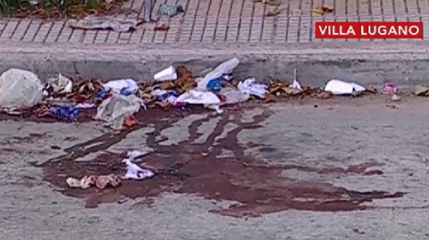 El crimen fue en Riestra y Larraya<br>