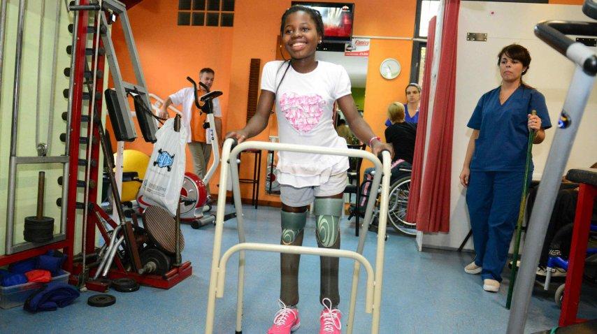 Yoyoca, la niña de Mozambique. <br>