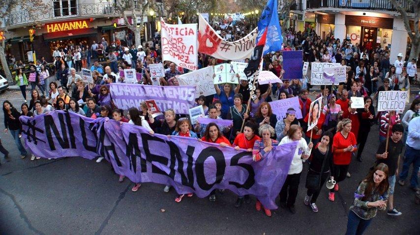 <p>Marcha violencia de género </p><p></p>