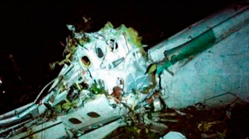 El plantel de Chapecoense cambió de avión antes de la tragedia. <br>