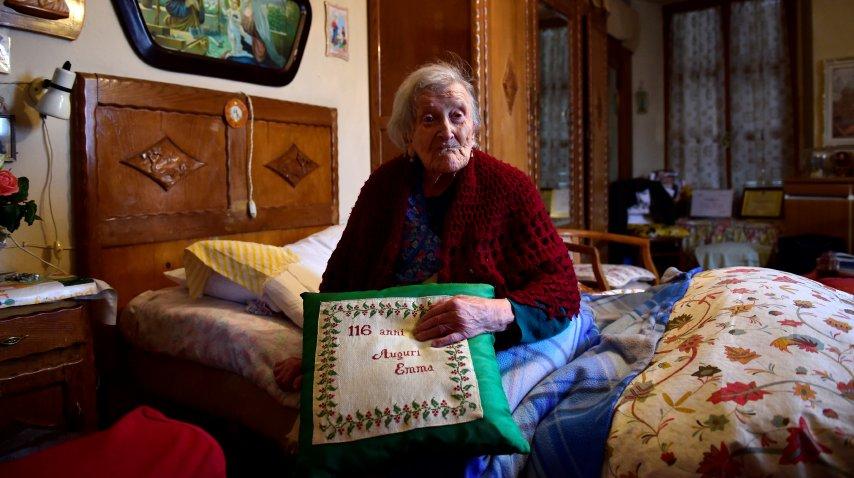 Emma Morano festeja 117 años este martes<br>