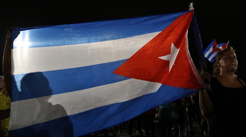 Las cenizas partieron rumbo a Santiago de Cuba<br>