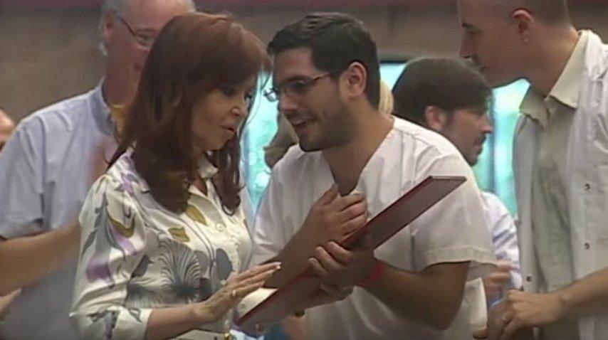 Cristina Kirchner  recibe Honoris Causa