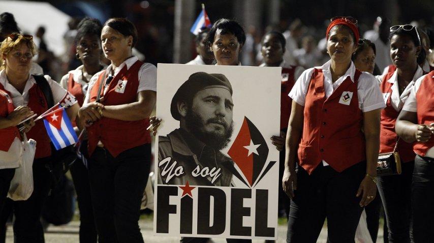 <p>Despedida de los restos de Fidel Castro</p><p></p>