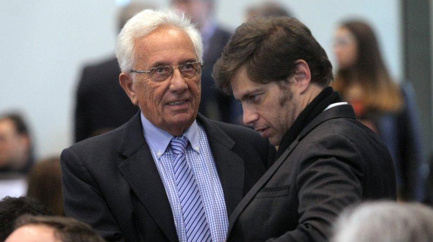 Héctor Recalde y Axel Kicillof
