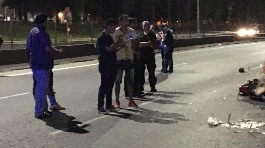 Balearon un policía en la Ricchieri