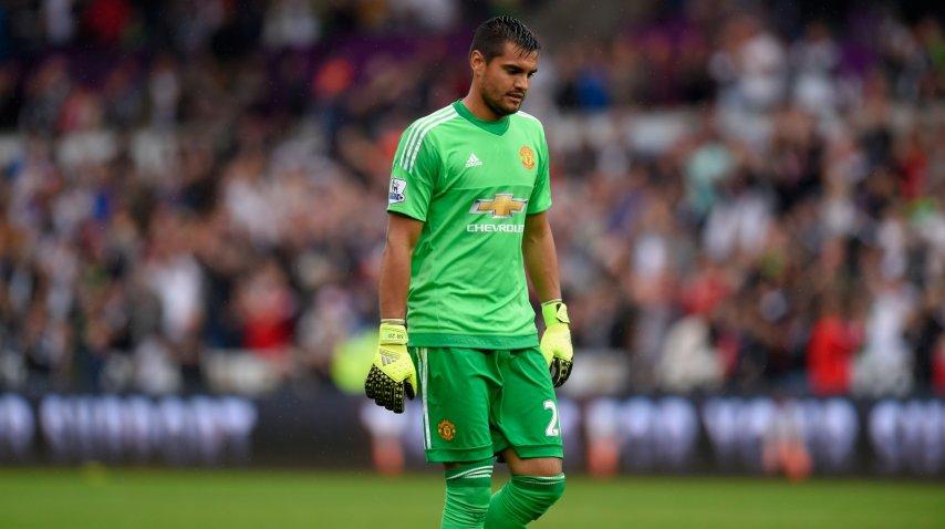 Romero, con poco lugar en el Manchester United<br>