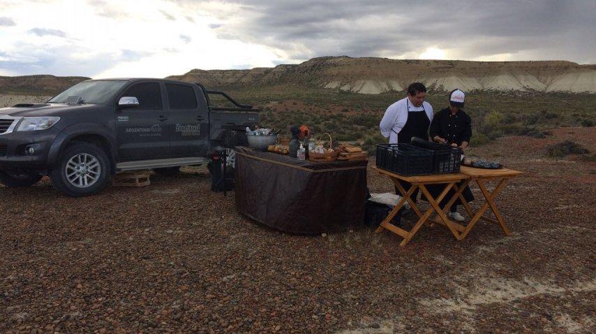 El chef Pablo Blanco y una comida gourmet en una atmósfera de ensueño