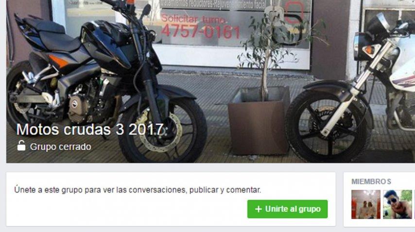 Venden motos robadas