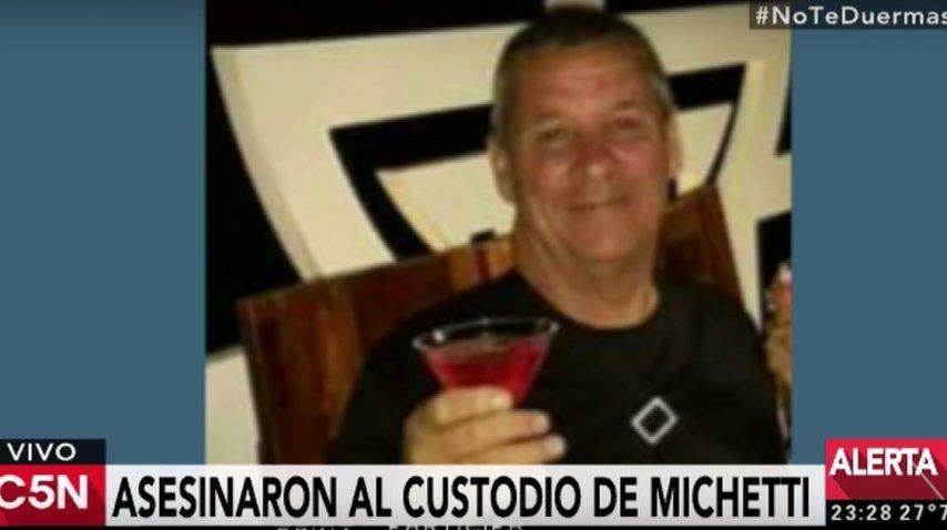 Jorge Oscar Fusco, custodio de Gabriela Michetti asesinado en un intento de asalto